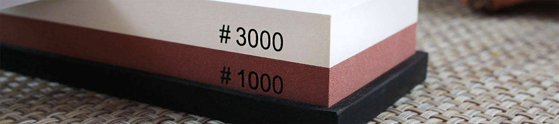 Wusaki Double-Sided Whetstone Grit 1000 and 3000