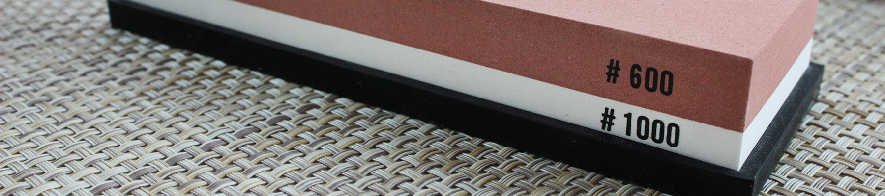 Wusaki Double-Sided Whetstone Grit 600 and 1000
